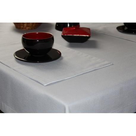 Obrus restauracyjny imitacja lnu szary