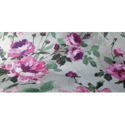 Obrus plamoodporny w kwiaty róże