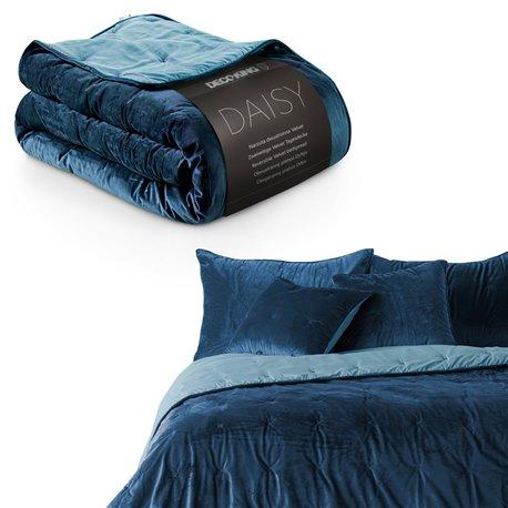 BEDS/DK/DAISY/DARKBLUE+BLUESKY/200x220