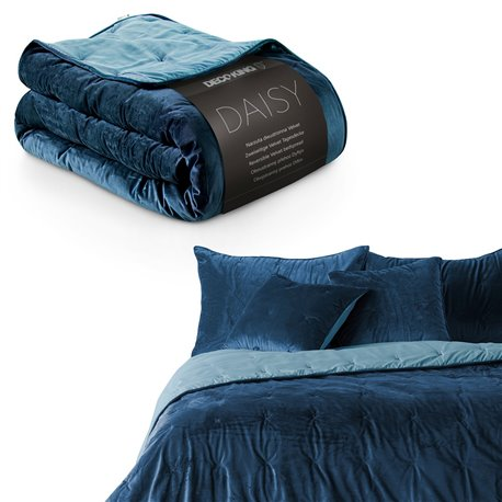 BEDS/DK/DAISY/DARKBLUE+BLUESKY/220x240