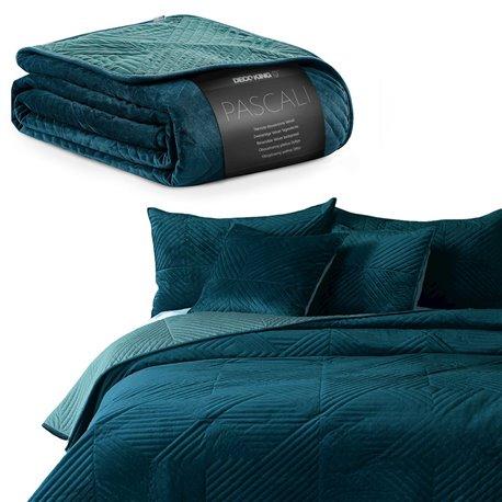 BEDS/DK/PASCALI/MARINE+AZUREBLUE/220x240