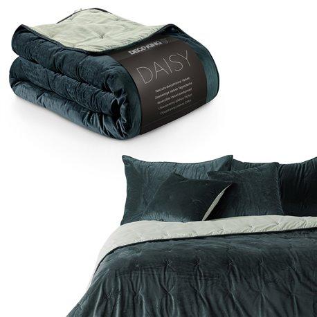 BEDS/DK/DAISY/NAVY+CREAM/220x240