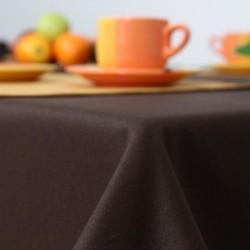 Obrus restauracyjny imitacja lnu brąz