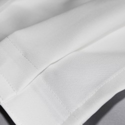 Skirting falbana biały mat