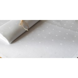 Obrus bawełniany biały